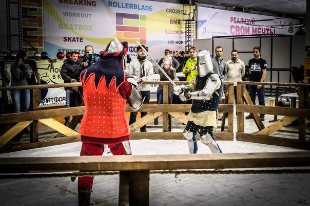 Рыцарский турнир в Хабаровске