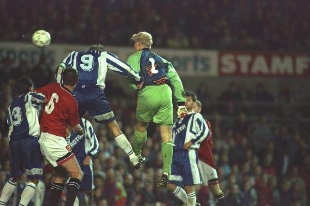 Ротор - Манчестер-Юнайтед, 1995 год.