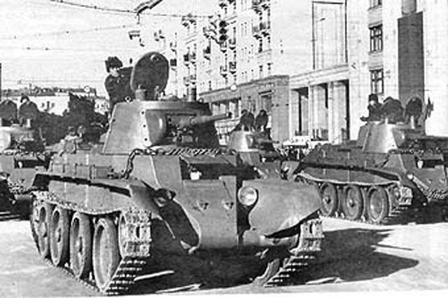 Танк БТ-7 образца 1937 года