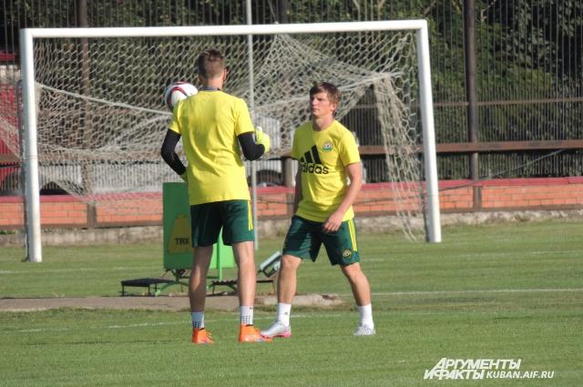 Андрей Аршавин отправился на свою первую тренировку в ФК Кубань
