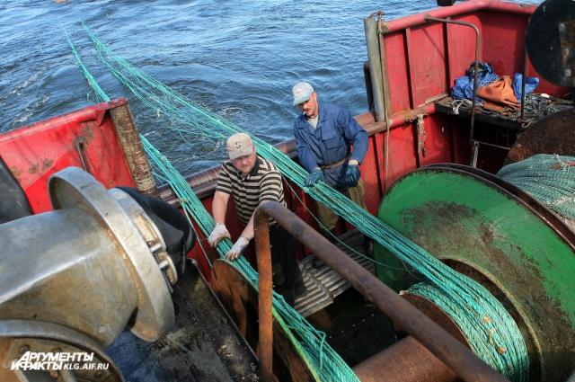 Рыбаки надеются на богатый улов