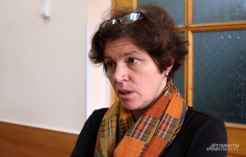 Яна Золотовицкая автор идеи и одна из создательниц экспериментального класса