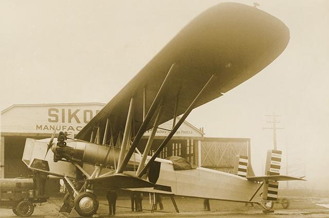 Инженер Игорь Сикорский получил образование в царской России и уже на Западе создал серию замечательных вертолётов и самолётов