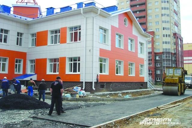 В Омске за год появилось 8000 новых мест в детские сады.