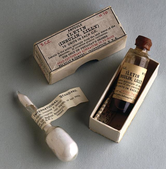 Инсулин, 1920-е гг.