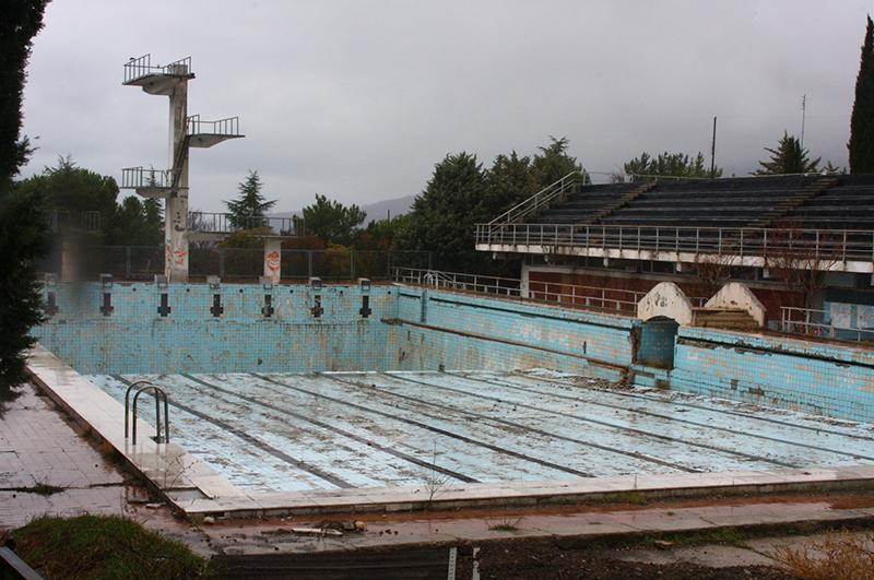 Бассейн в Артеке, 2009 год