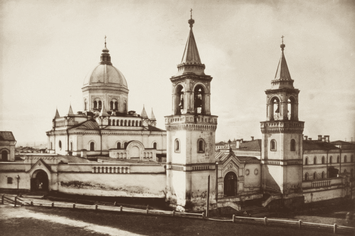 Иоанно-Предтеченский женский монастырь, в который заключили Дарью Салтыкову
