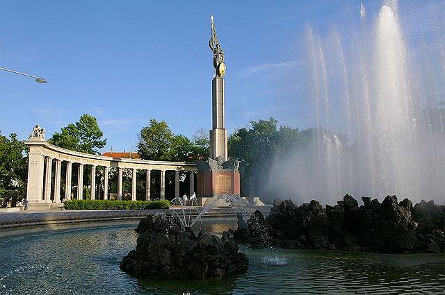Памятник советским воинам, погибшим при освобождении Австрии от фашизма