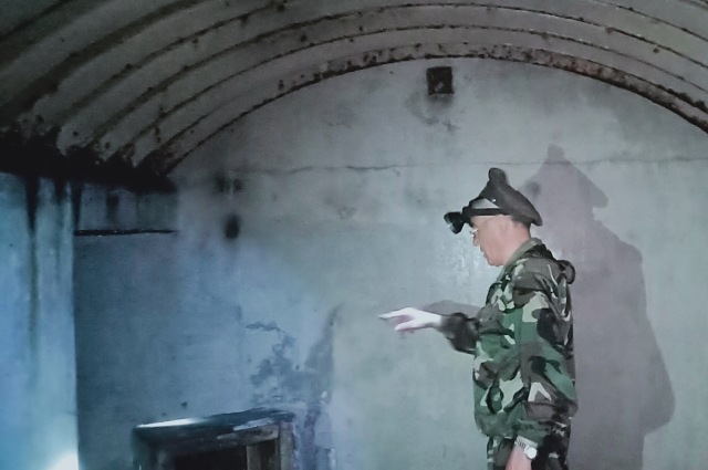 В подземельях форта