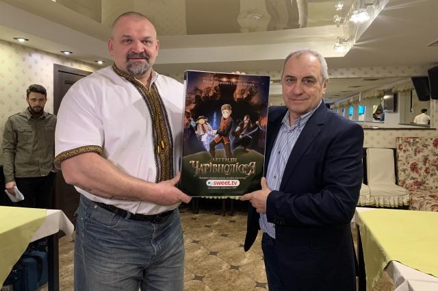 Василий Вирастюк и Виктор Андриенко.