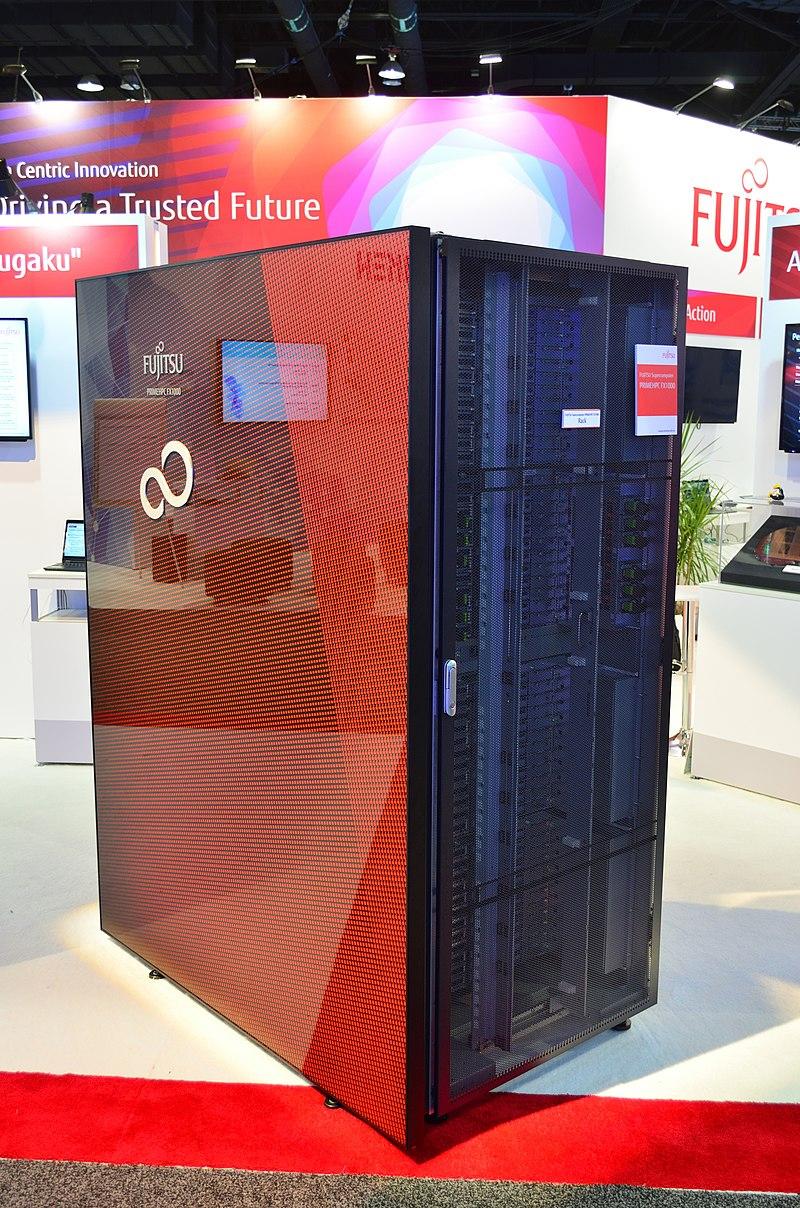 PRIMEHPC FX1000 (узел Фугаку) на SC19.
