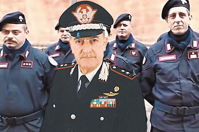 Роберто Конфорти и его гвардия– служба арт-карабинеров. Именно эта служба должна была найти украденные картины.