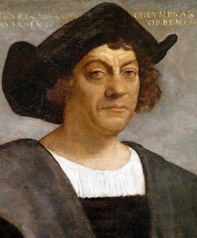 Христофор Колумб. Возможный посмертный портрет кисти Себастьяно дель Пьомбо (1519). Метрополитен-музей (Нью-Йорк, США)