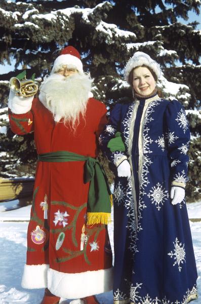 Дед Мороз и Снегурочка в СССР