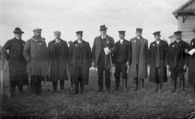 Счетная комиссия во время переписи 1897 года.