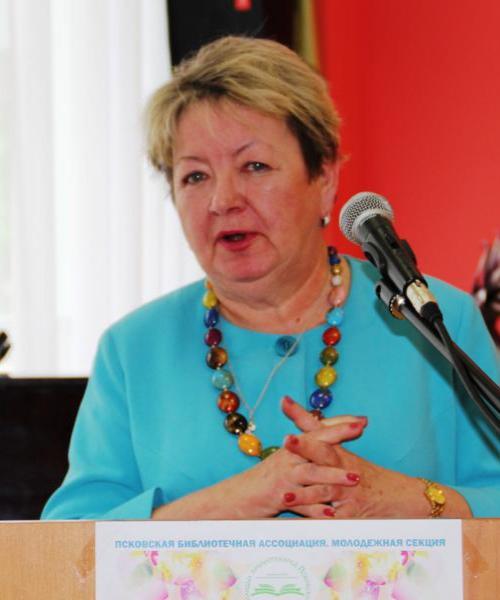 Наталья Волкова.