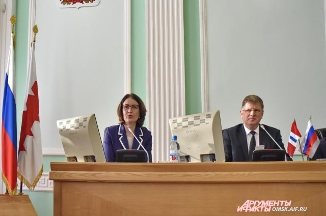 Оксана Фадина присягнет на верность городу уже 8 декабря 2017 года.