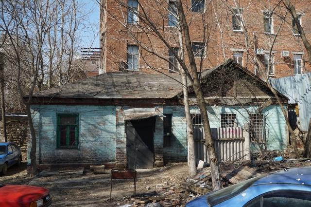 Так сейчас выглядит дом на бывшей Никольской улице, ныне Социалистическая, 181.