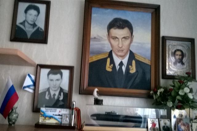 В квартире Софии Дудко главное место отведено фотографиям сына.