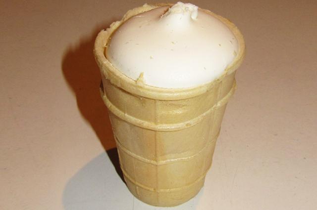 Мороженое в стаканчике.