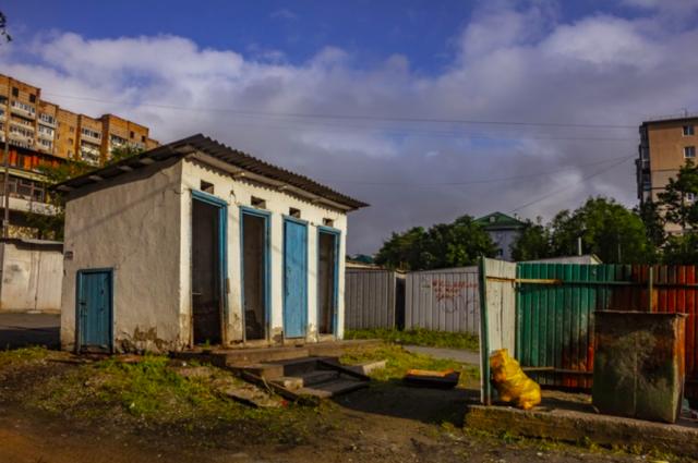 Эти постройки на ул. Гамарника не представляют собой ничего ценного, а условия жизни соответствуют 19 веку.