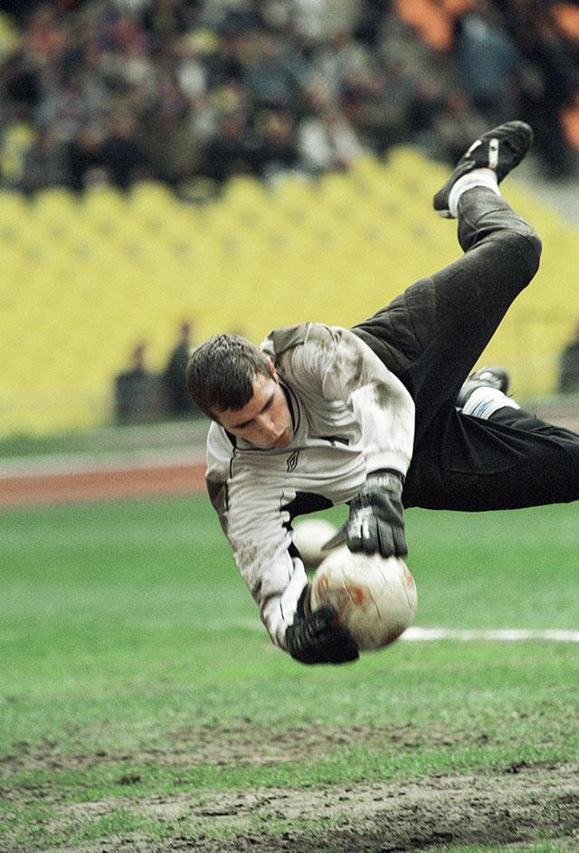 Вениамин Мандрыкин в ЦСКА, 2002 г.