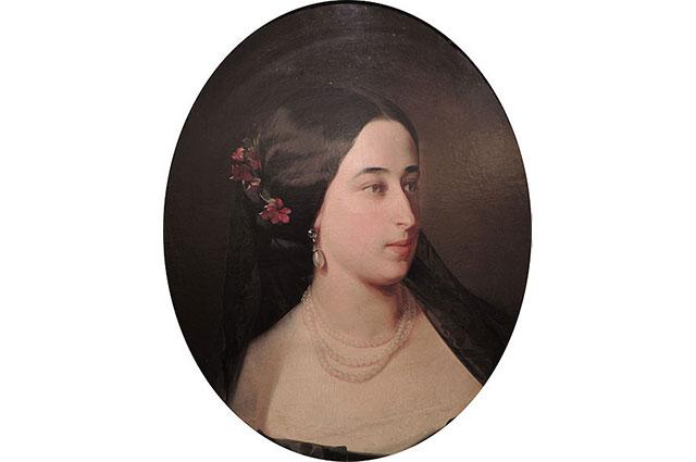 Мария Александровна Пушкина.