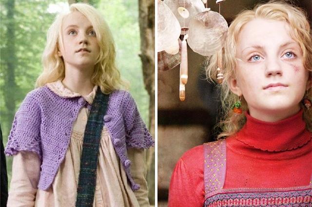 Полумна Лавгуд в фильме «Гарри Поттер и Орден Феникса», 2007 г и «Гарри Поттер и Дары Смерти», 2010 г.