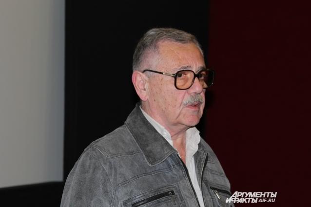 Юрий Щербаков, председатель Ростовского областного отделения Союза кинематографистов Российской Федерации