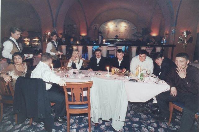 Посетители ресторана Жеспар