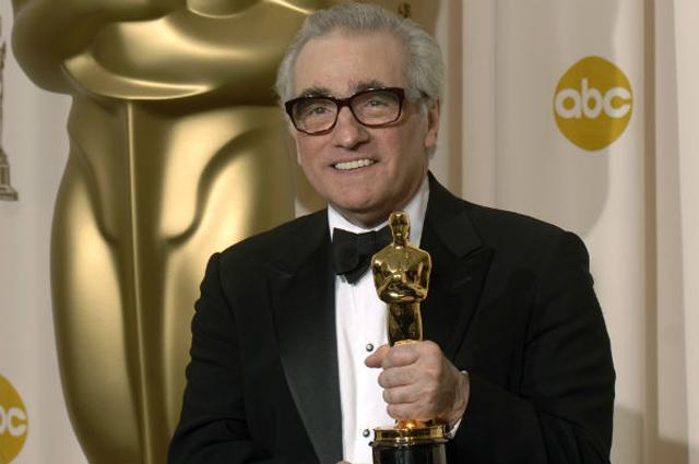 Скорсезе со статуэткой Оскар