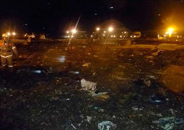 Авиакатастрофа в международном аэропорту Казани