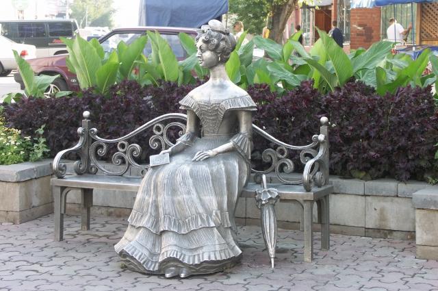 Жена генерал-губернатора стала символом Омска.