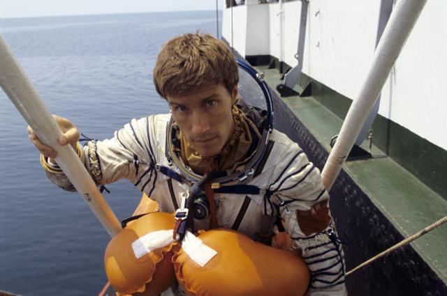 Космонавт-исследователь Сергей Крикалёв. 1988 год