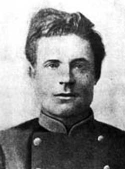 Николай Бурденко в годы обучения в Томском университете.