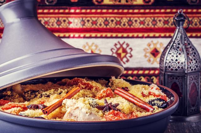 Марокканский таджин.