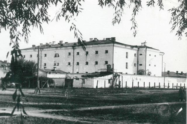 Тюремный замок.