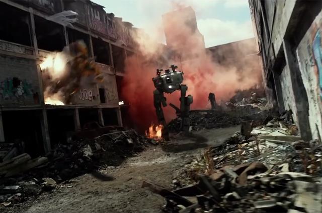 Кадр из фильма «Трансформеры5: Последний рыцарь»