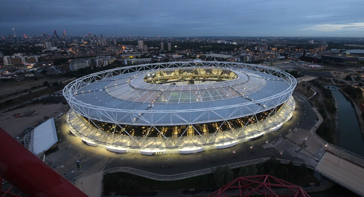 Олимпийский стадион, Лондон.
