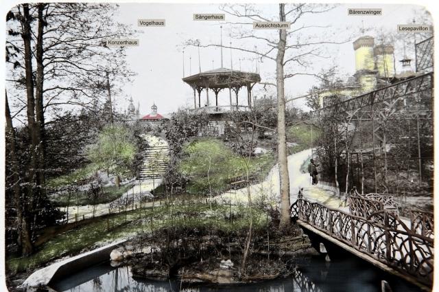Так павильон выглядел в начале ХХ века.