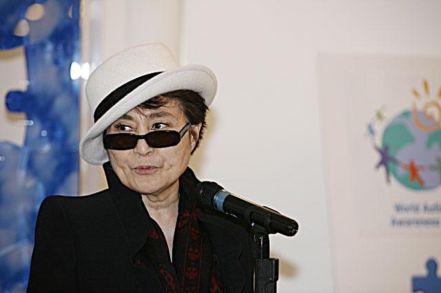 Йоко Оно. 2009 год
