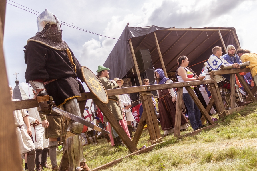 Великий болгар, средневековые бои