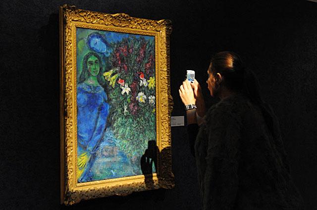 В Московском музее современного искусства можно увидеть работы Марка Шагала