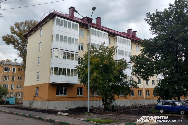 На территории Соцгорода идет строительство нового дома.