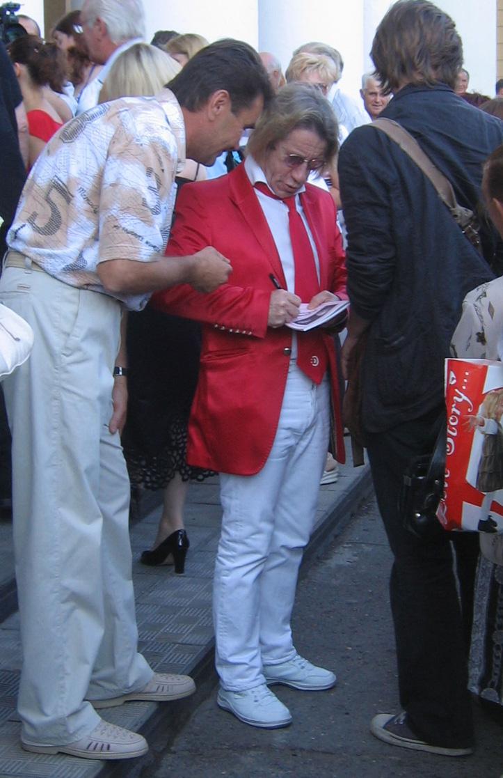 Александр Кавалеров на X Шукшинском кинофестивале в Бийске. 2008 г.