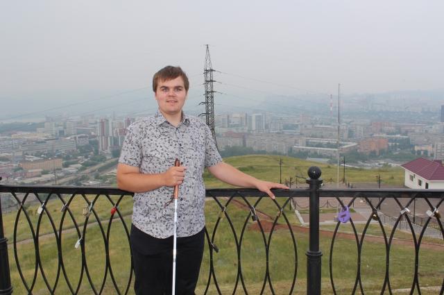 В Красноярске путешественник оказался впервые.