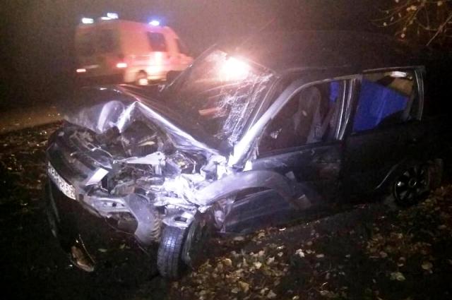 Удар был такой силы, что один из водителей погиб на месте аварии.