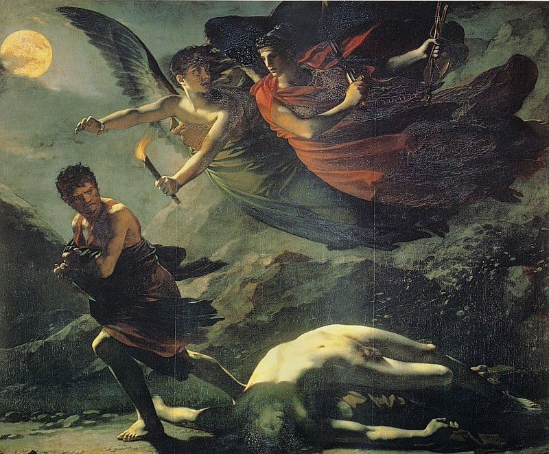 Пьер Поль Прюдон. Картина Правосудие и Божественное возмездие, преследующие Преступление