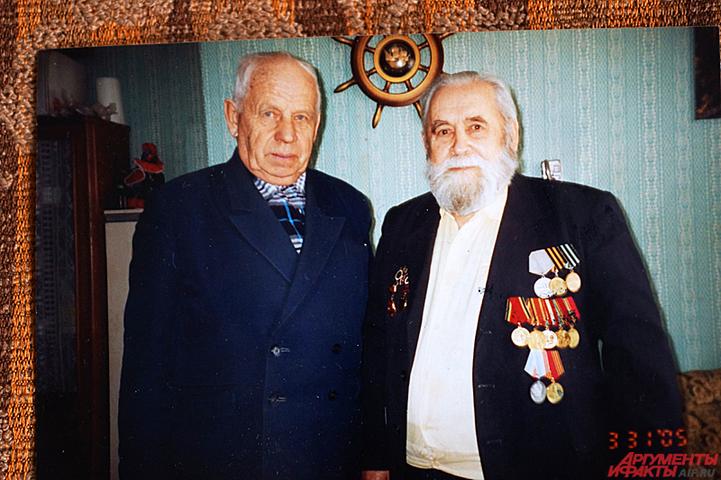 Андрей Чижов (справа), 2005 год