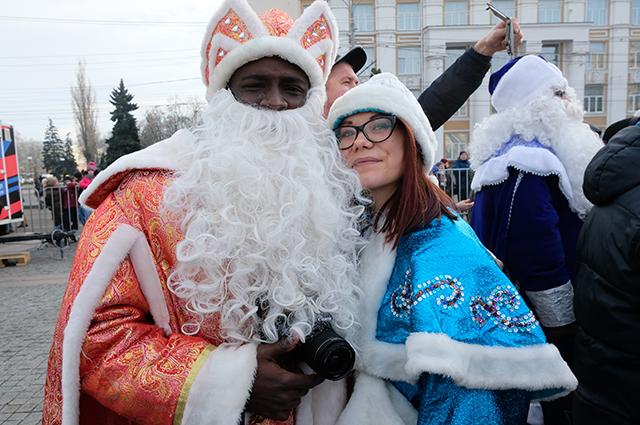 Парад Дедов Морозов 2019